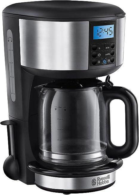 Russell Hobbs 20681-56 Cafetera de filtro, acero pulido, plástico, Gris: Amazon.es: Hogar