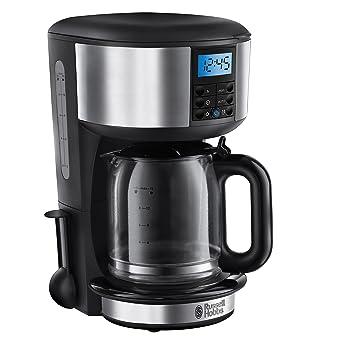 Russell Hobbs Legacy Cafetera de filtro, acero pulido 1000 W, 1.25 litros, De plástico, Inoxidable, Gris: Amazon.es: Hogar