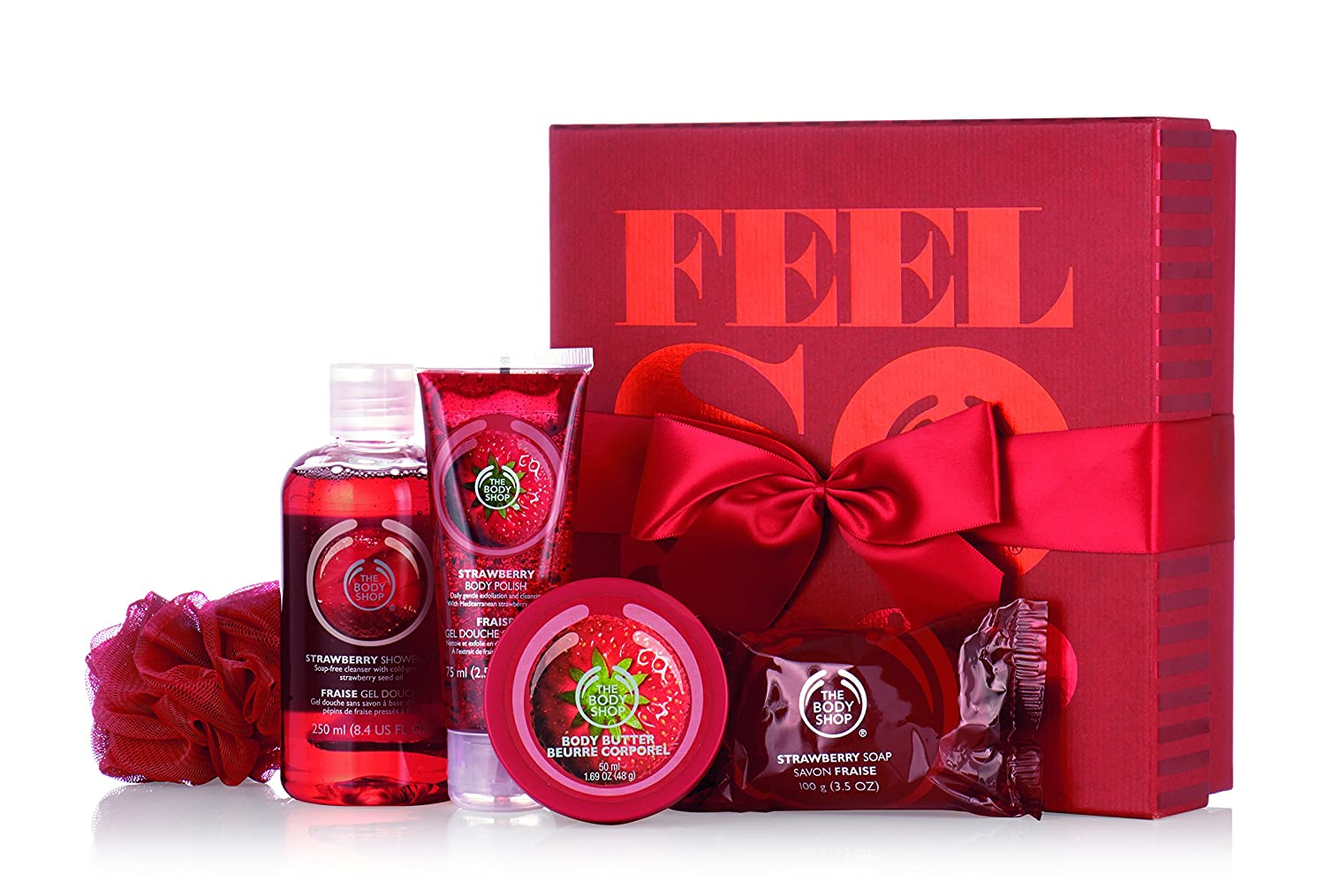 The Body Shop Strawberry Essential Collection