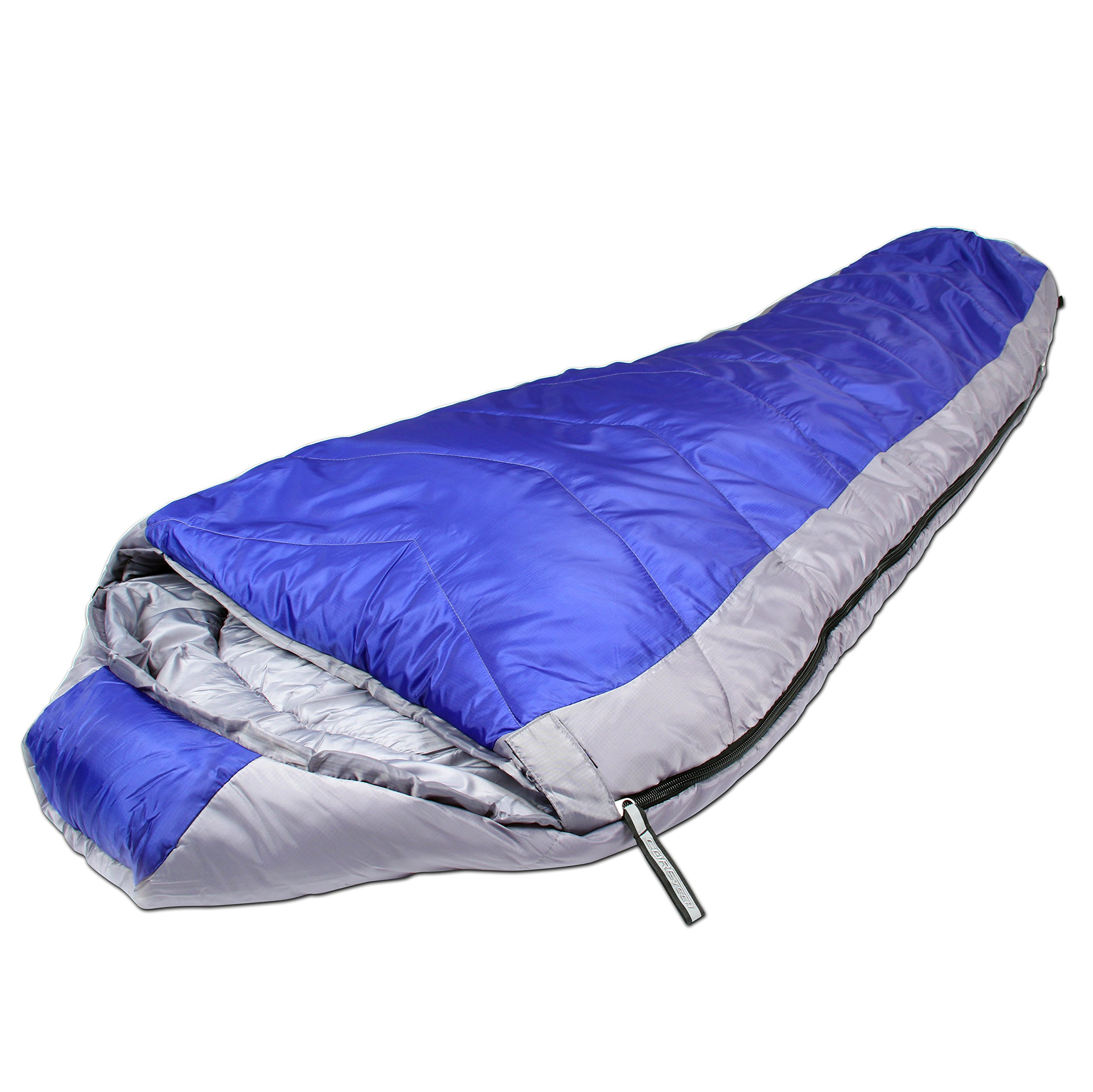 Northstar Tactical Coretech Sleeping Bag, Blue, 3.5-Pound