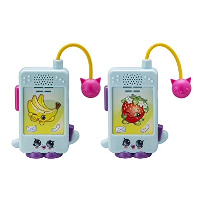 Shopkins Character Walkie Talkies for Kids Static Free Extended Range: Toys & Games