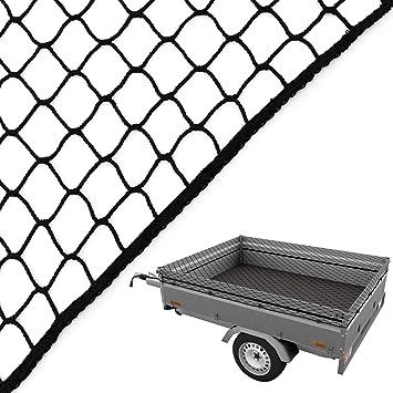 Anhängernetz Containernetz Abdecknetz Ladungssicherungsnetz Netz 3,5 x 6 Meter