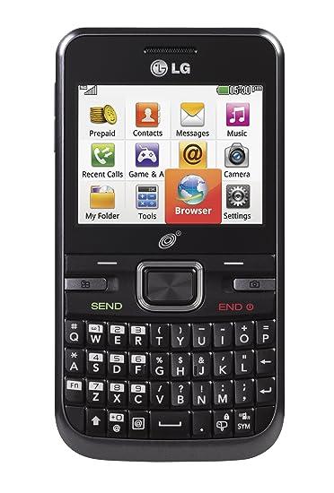 amazon com lg 530g prepaid phone with triple minutes tracfone rh amazon com