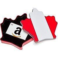 Amazon.ca Gift Card in a Maple Leaf Tin (Classic White Card Design)
