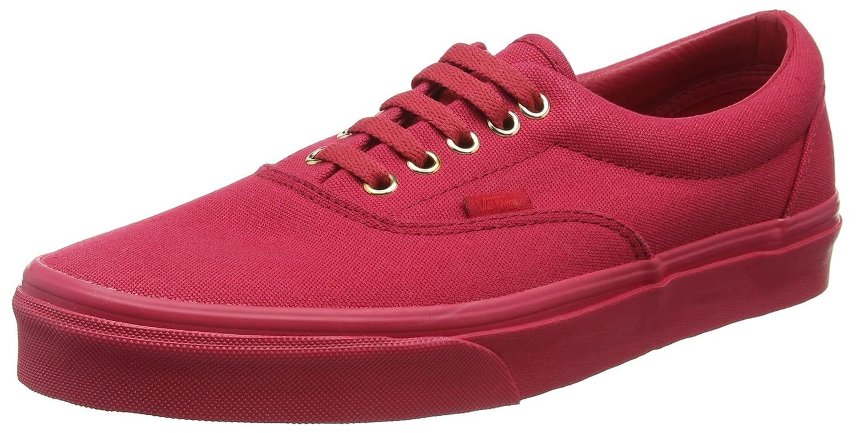 Vans Men's Era (Gold Mono) Crimson