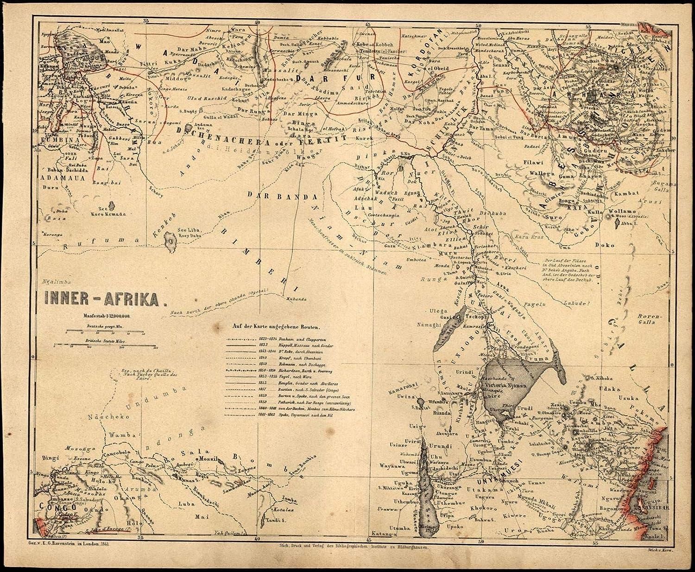 Amazon.com: Africa Lake Victoria Uganda Kenya Rwanda Burundi DRC c on