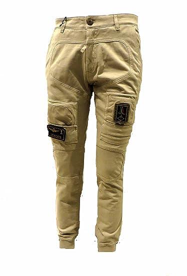 61f6bfd4a3b Aeronautica Militare Mens Trousers PF677 Colonial Pants Anti G Light Jersey  Poloshirt