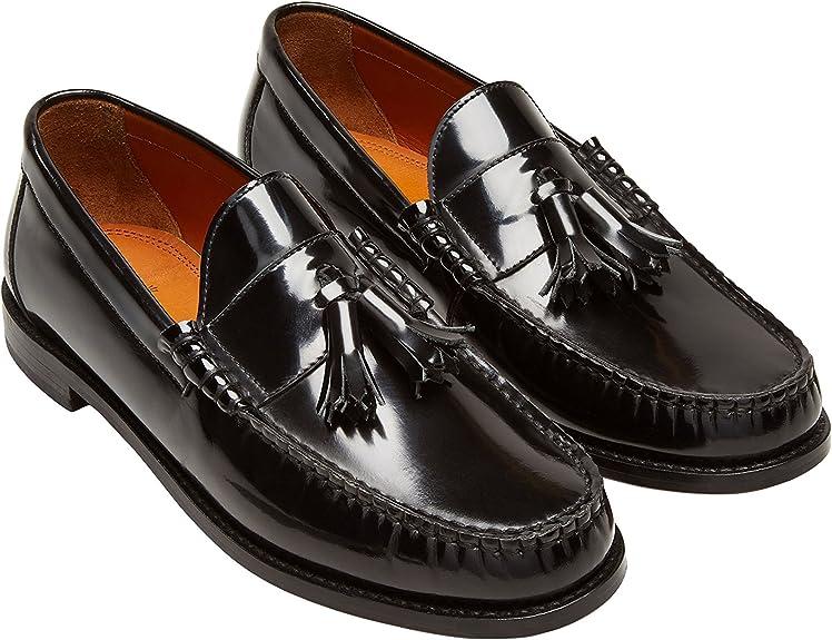 next Hombre Mocasines Borlas Negro EU 47: Amazon.es: Zapatos y ...
