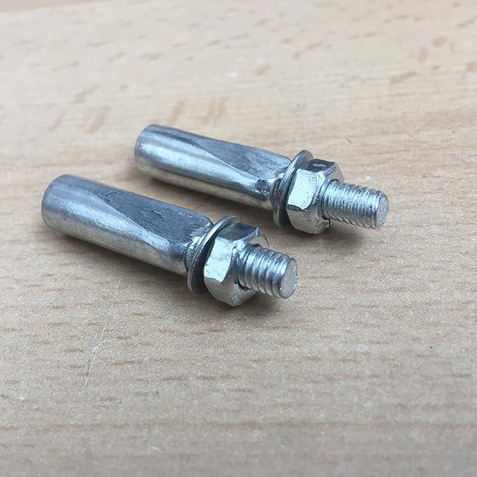 2 Stück Farrhad Kurbelkeil Tretlagerkeil Fläche 9 mm 9,5 mm kurbeln innenlager