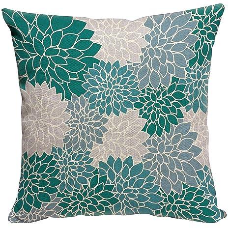 Violetpos - Funda de cojín Decorativa para sofá, decoración ...