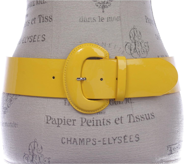 "Black Skinny patent belt 33/"" long 1//2/"" wide rectangle"