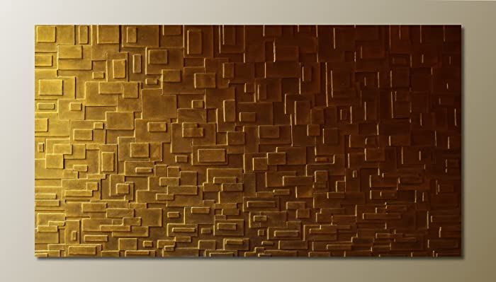 Large Wall Art - Patterned Wall Panel - Abstract Wall Art - Textured Panel - Wall & Amazon.com: Large Wall Art - Patterned Wall Panel - Abstract Wall ...