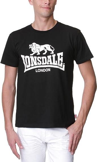 Lonsdale Camiseta Negro XXL (UK XL)