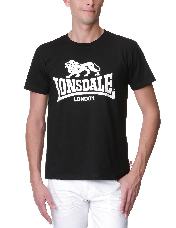 TALLA XXL (UK XL). Lonsdale T-Shirt Logo Ropa Interior de Deporte para Hombre