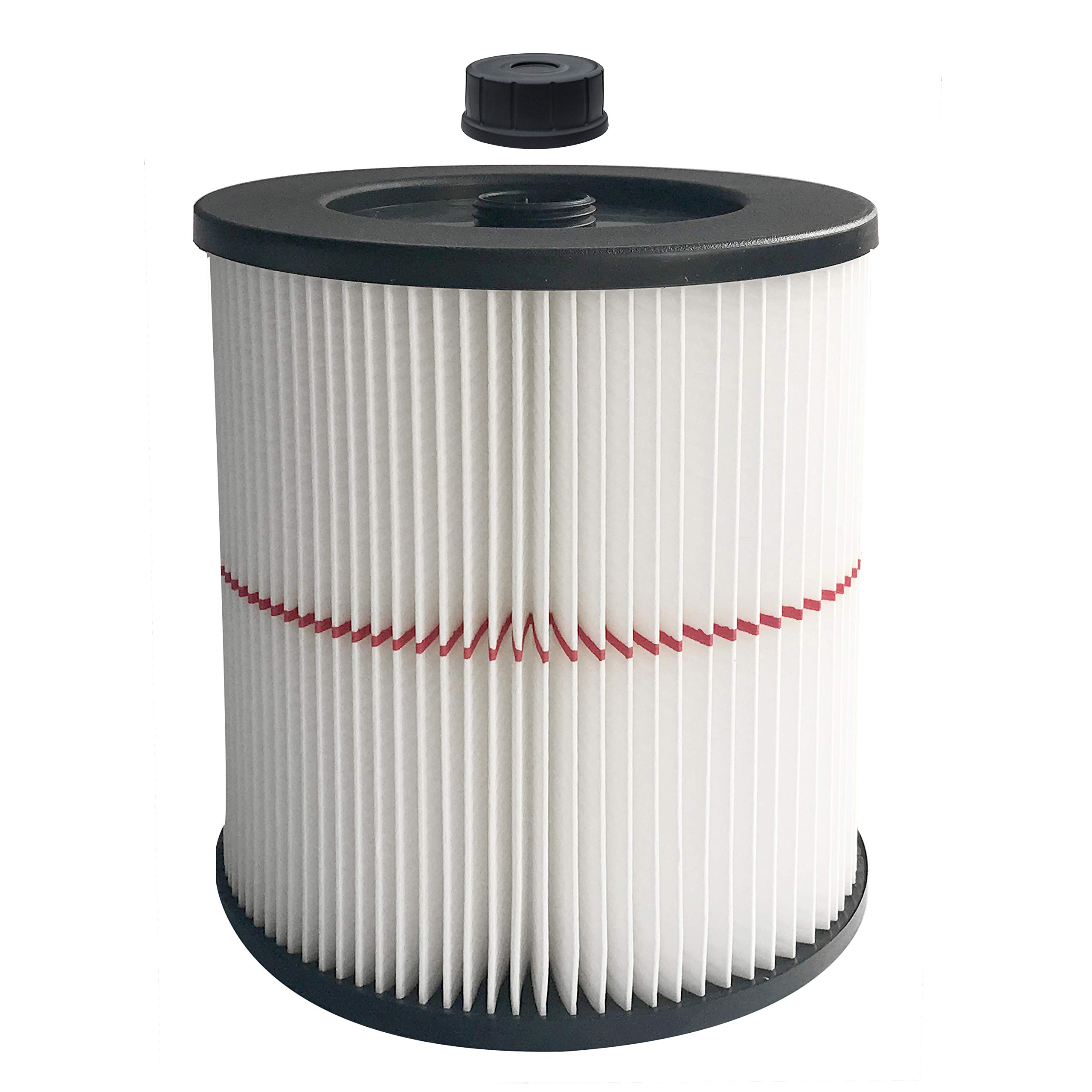 Cartridge Replacement Filter fit Shop Vac Craftsman 9-17816 Wet/Dry Vacuum Cleaner for 5 Gallon & Larger Vac by Aliddle