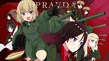 Athah Designs Anime Girls und Panzer Erwin Katyusha Clara