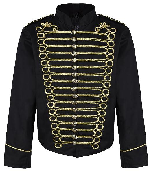 Amazon.com: Ro Rox - Chaqueta militar para hombre: Clothing