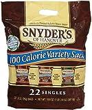 Snyder's of Hanover 100 Calorie Pretzel Tray Pack - Variety Sack - 19.8 oz - 22 ct