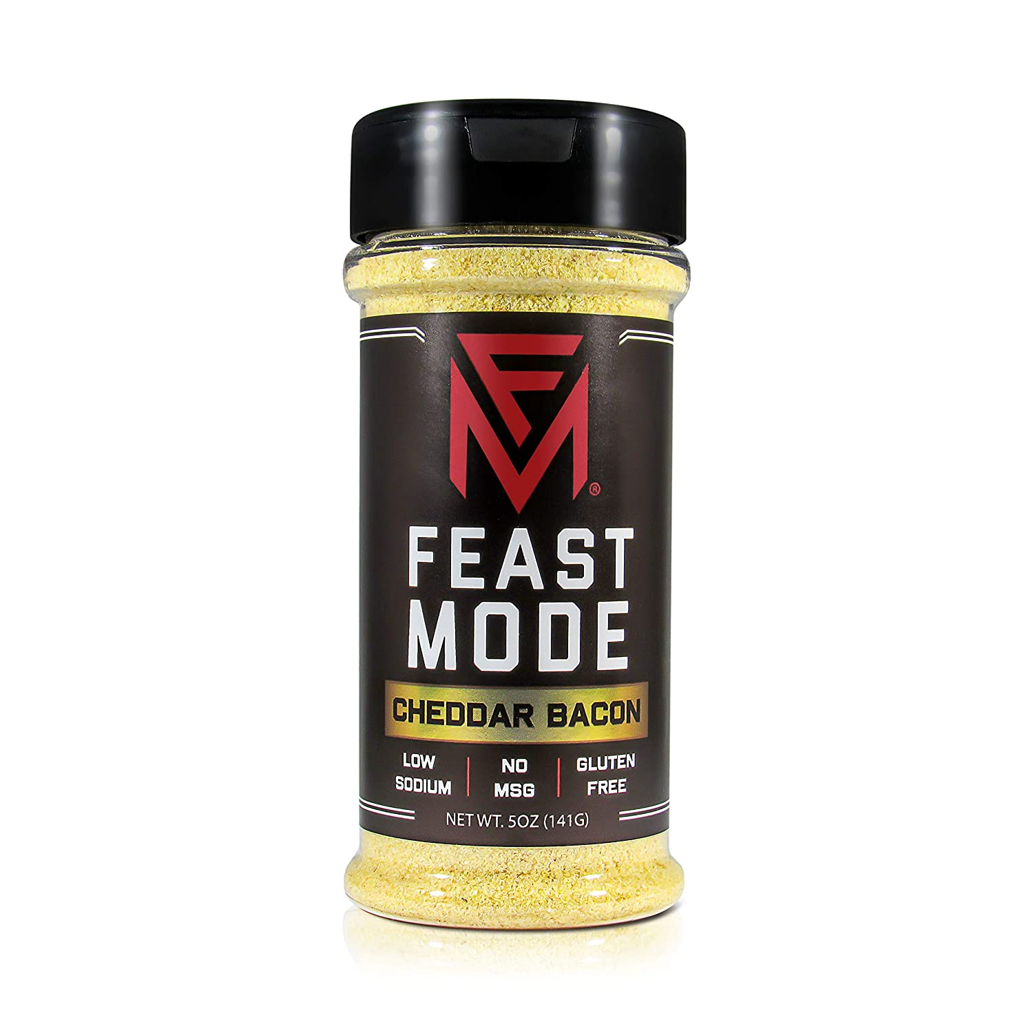 Cheddar Bacon - Feast Mode Flavors - Low Sodium, No MSG, Gluten Free, All Natural, Meal Prep Seasoning , Healthy , Smokey Flavor