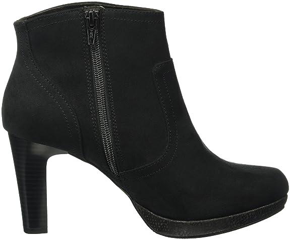 Oliver Damen 25301 Kurzschaft Stiefel, Schwarz (Black Comb 98), 42 EU   Amazon.de  Schuhe   Handtaschen c9e3ae1bb7