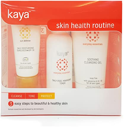 Kaya Clinic Health Routine - Cleanse, Tone and Protect