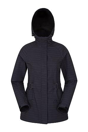 ff50203d65e785 Mountain Warehouse Oasis II Softshelljacke für Damen - Atmungsaktiv,  Winddicht, leichte Jacke, wasserbeständiger