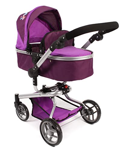 Amazon.com: Bayer Chic 2000 – Large YOLO 2-in1 Combi Dolls Pram, for Ages 3 +: Toys & Games