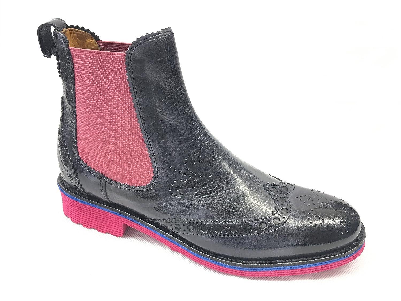 Melvin & Hamilton Amelie 50 - Zapatos de cordones para mujer 37 EU|Azul