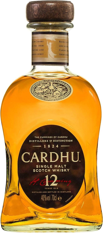Cardhu 12 Años Whisky Escocés - 700 ml: Amazon.es: Alimentación y bebidas