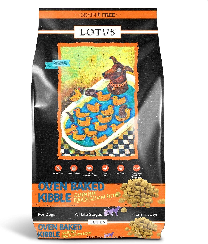 Lotus Dry Dog Food, 20 Lb, Duck And Sweet Potato