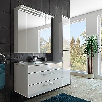 Modernes Badezimmer Möbel Set/mit Waschbecken/Spiegel- und ...
