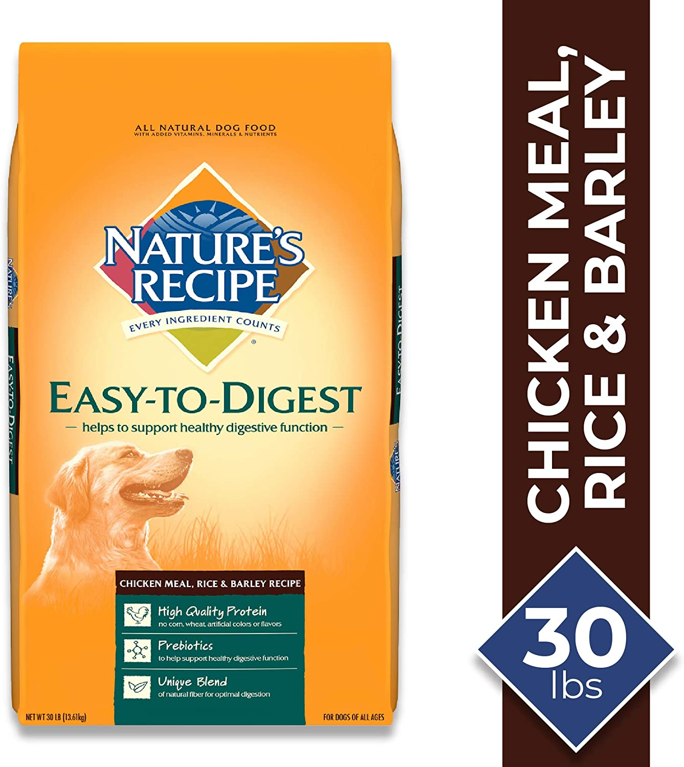 5. Nature's Recipe Easy-To-Digest Dry Dog Food