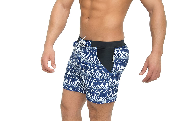 Ltd Taddlee Basic Men Swimwear Solid Long Swim Boxer Trunks Black Board Surf Shorts Foshan Xiongfeng Clothing Co
