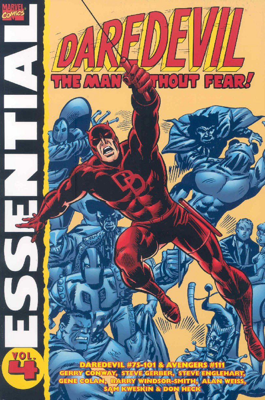 Download Essential Daredevil, Vol. 4 (Marvel Essentials) (v. 4) PDF