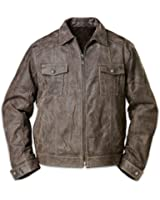 Men's Jacket: Land Of The Free Men's Jacket by The Bradford Exchange