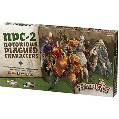 Zombicide: Black Plague Notorius Plagued Characters 2 Board Game: Toys & Games