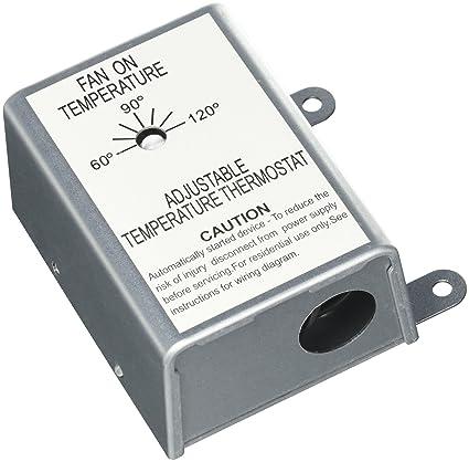 Nutone RFTH95 Attic Ventilator Replacement Thermostat Automatic  sc 1 st  Amazon.com & Nutone RFTH95 Attic Ventilator Replacement Thermostat Automatic ...