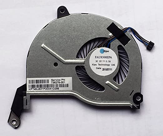 Amazon.com: wangpeng Generic New CPU Cooling Fan For HP Pavilion 15-N000 15-N100 15-N200 15-n208ax 15-n208sf 15-n053sf P/N:732068-001 736218-001 ...