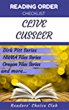 Reading order checklist: Clive Cussler - Series read order: Dirk Pitt Series, NUMA Files Series, Oregon Files Series and more! (English Edition)