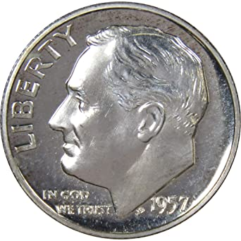 1996 S 10c Roosevelt Silver Dime US Coin Choice Proof