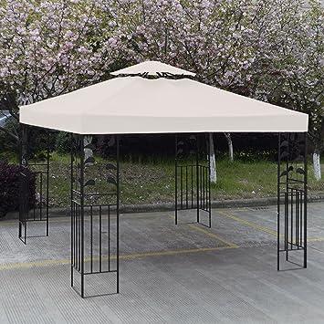 Amazon.com : 10\' X 10\' Gazebo Top Cover Patio Canopy Replacement 1 ...