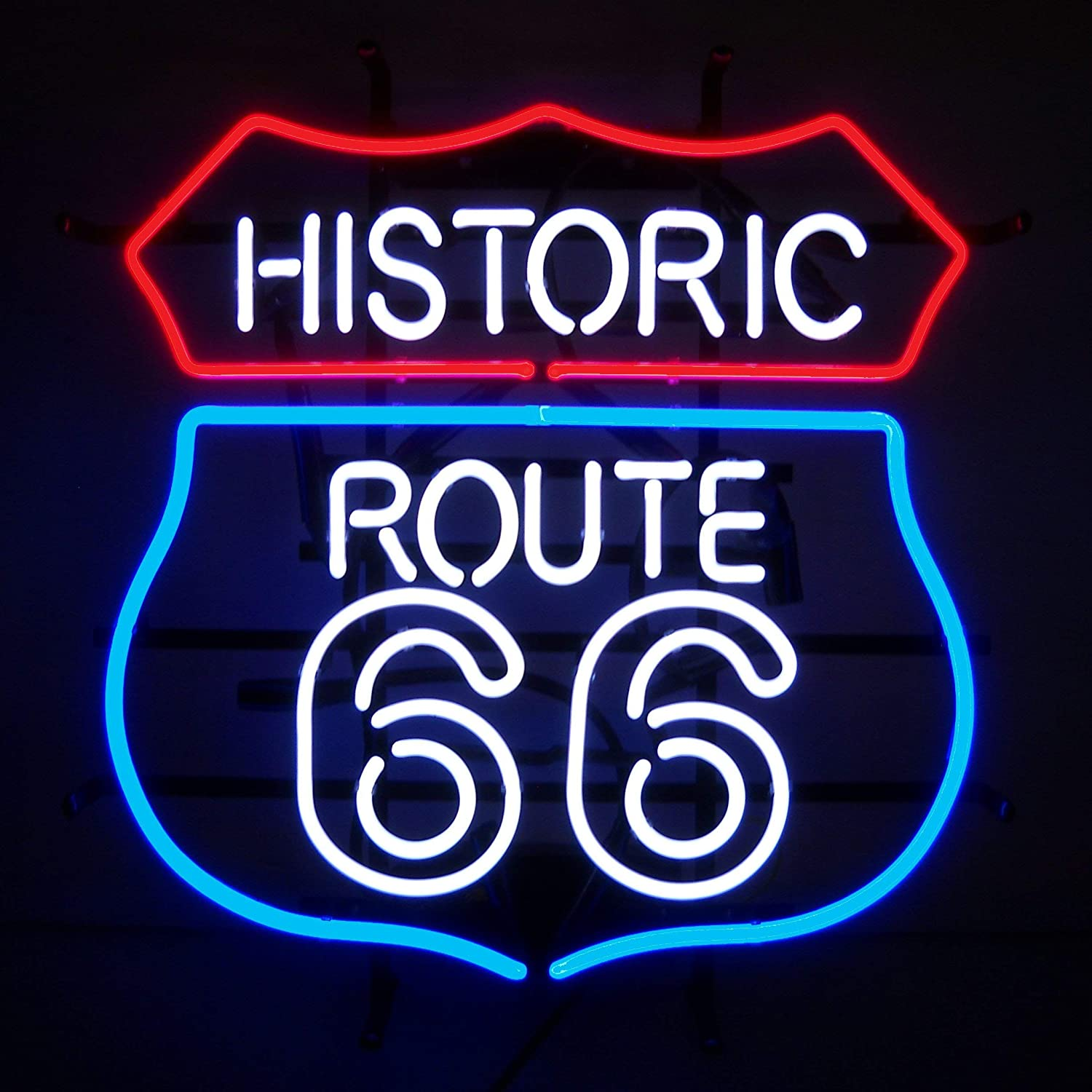 Amazon.com: Neonetics Historic Route 66 NEON - Cartel: Home ...
