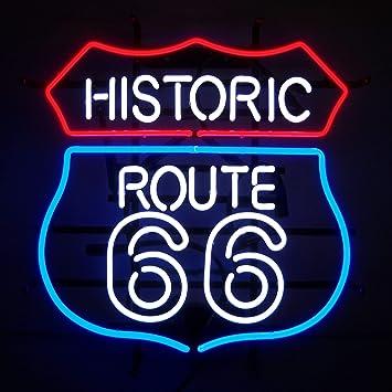 Amazon.com: Neonetics Historic Route 66 NEON - Cartel: Home ...
