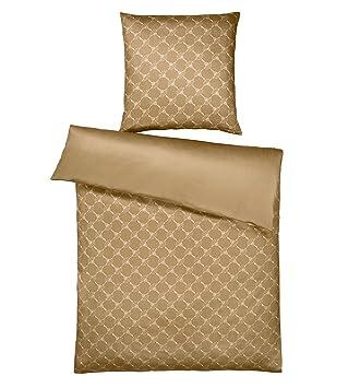 Joop Wendebettwäsche Cornflower Gradient Gold 1 Bettbezug 135x200 Cm 1 Kissenbezug 80x80 Cm