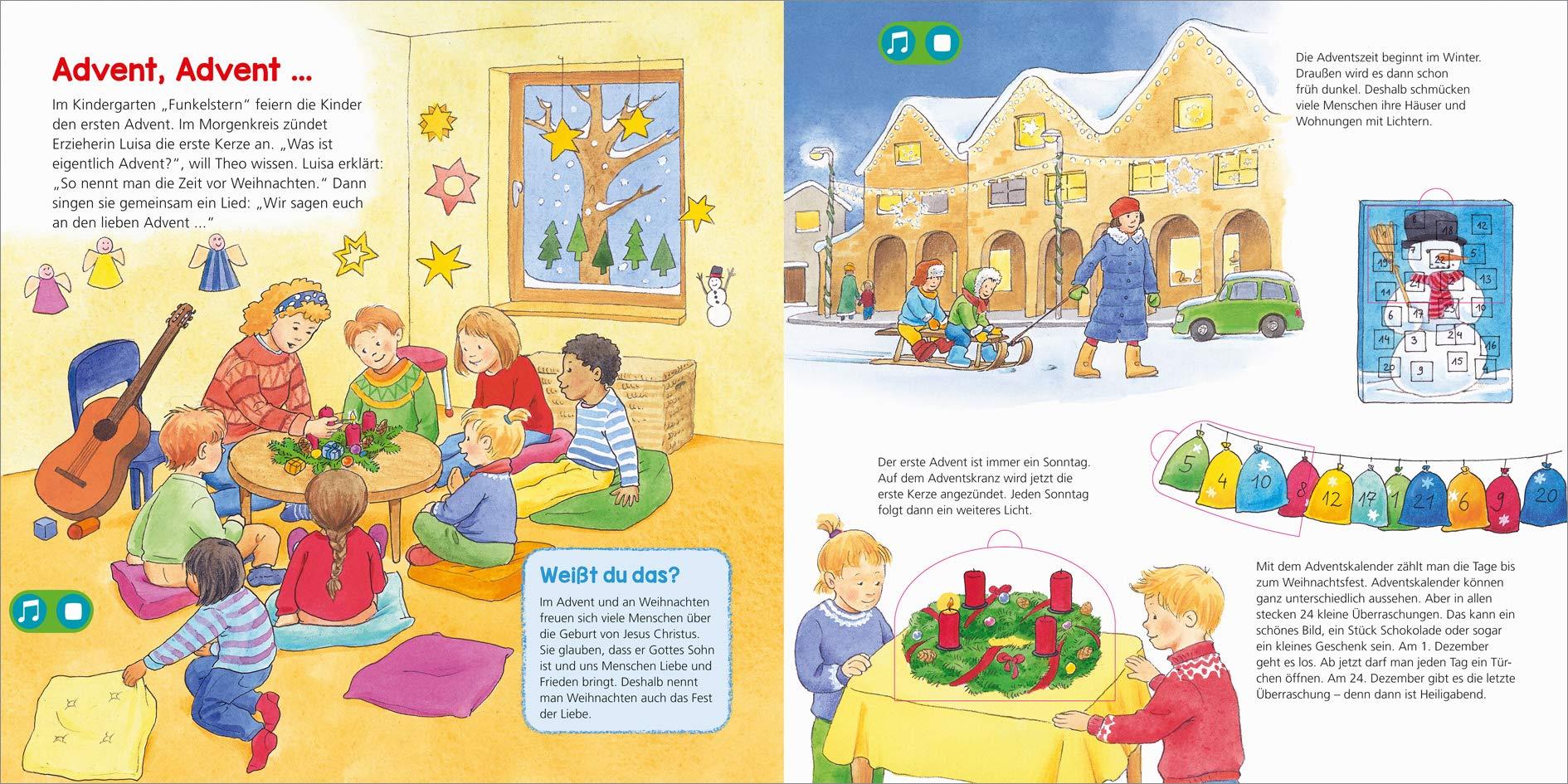 Advent Und Weihnachten Im Kindergarten.Bookii Was Ist Was Kindergarten Frohe Weihnachten Vom 1 Advent