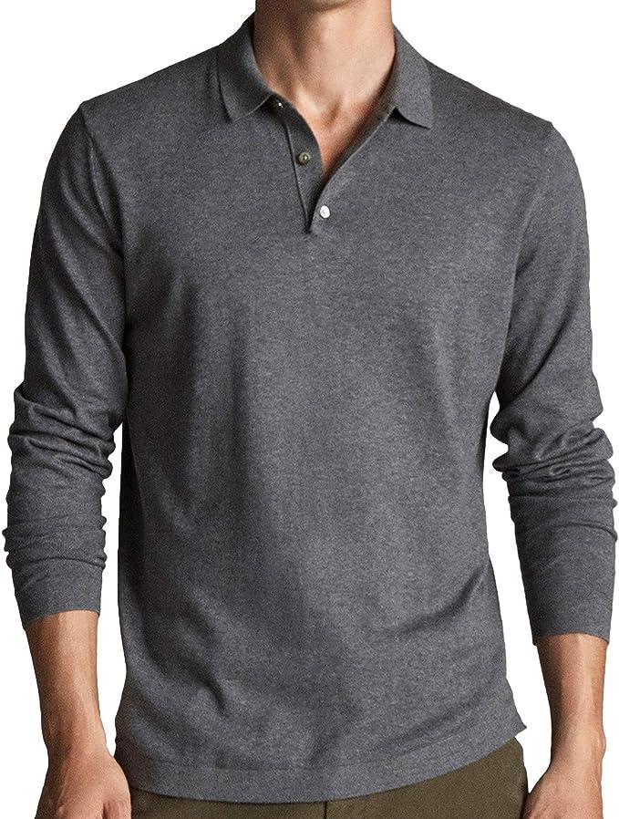 MASSIMO DUTTI 0933/308/807 - Jersey para Hombre (algodón y Seda ...