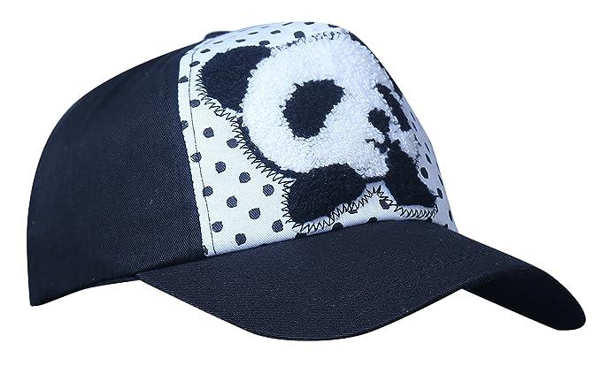 deba98a720f Zacharias Women s Polka Dot Panda Printed Baseball Cotton Cap (Black ...