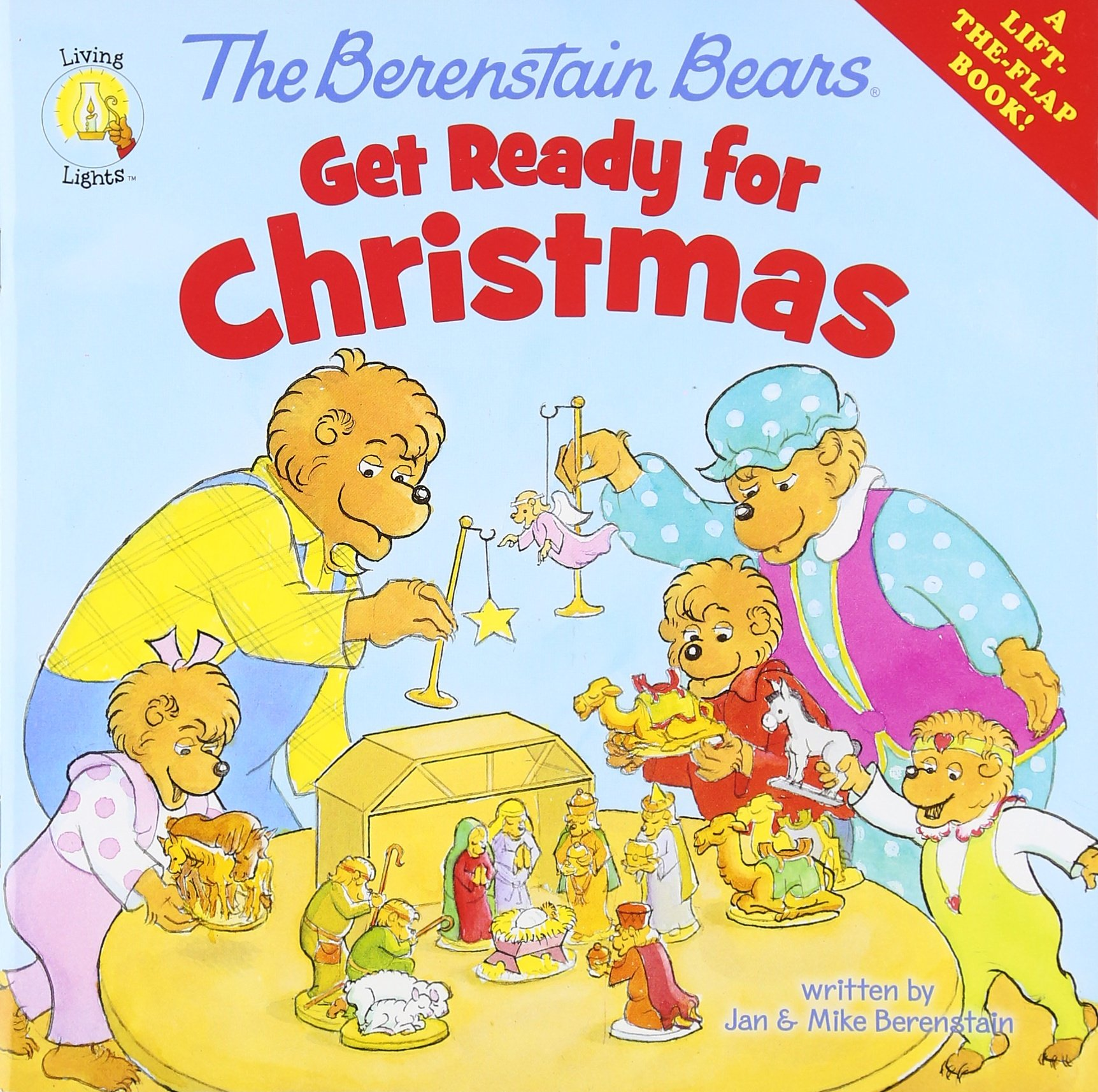 Download The Berenstain Bears Get Ready for Christmas: A Lift-the-Flap Book (Berenstain Bears/Living Lights) PDF
