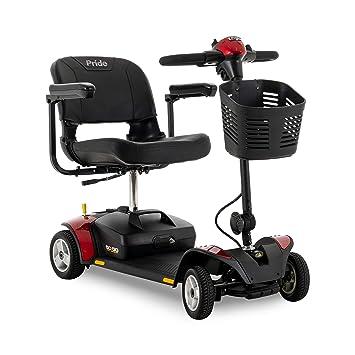 Amazon.com: Pride Go-Go Elite Traveller 4 ruedas Movilidad ...