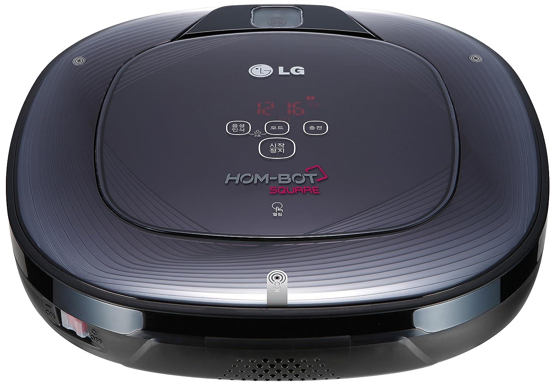 LG VR64703LVM Aspirador Robot VR 64703 LVM HOMBOT 3.0,HEPA.MD, 30 W, 0.6 litros, 30 Decibelios, negro
